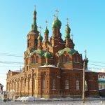 Свято-Троицкая церковь в Челябинске