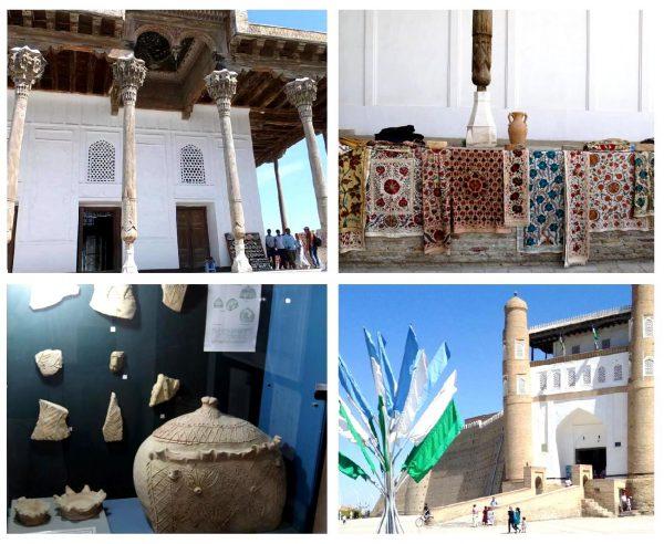 Архитектурный музей-заповедник в крепости Арк (Бухара)