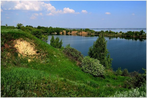 Озеро Синеглазово в Челябинске