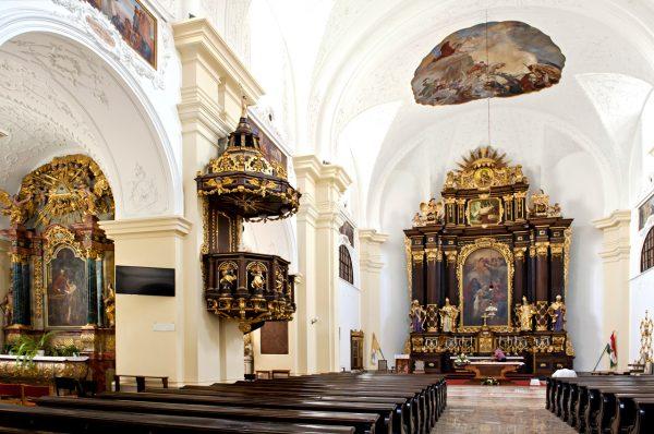 Интерьер собора святой Анны