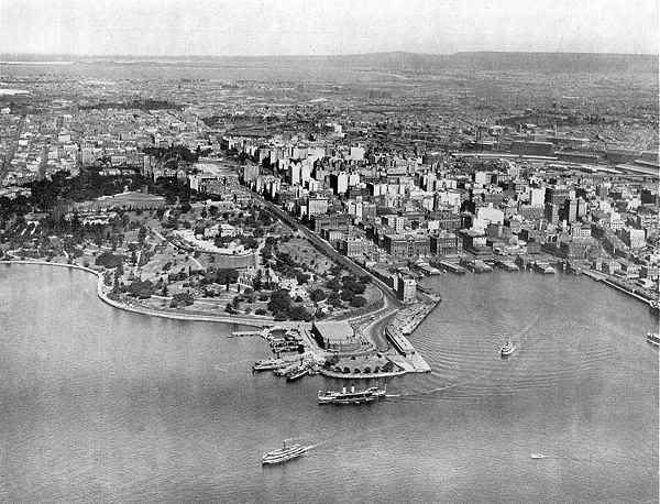 Вид на старый Сидней