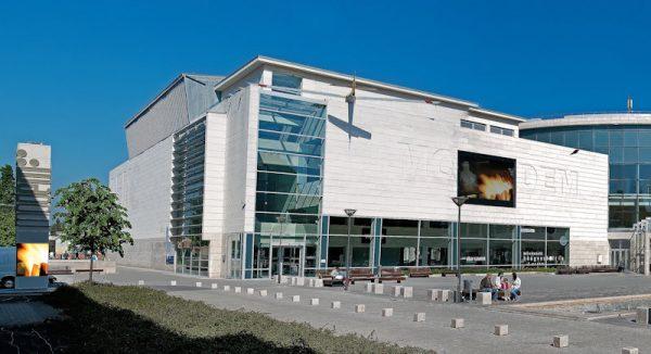 Здание культурного центра «Модем» в Дебрецене