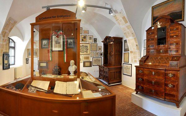 Экспонаты в музее Ференца Меддьеши