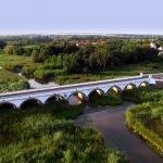 Девятиарочный мост в парке Хортобадь