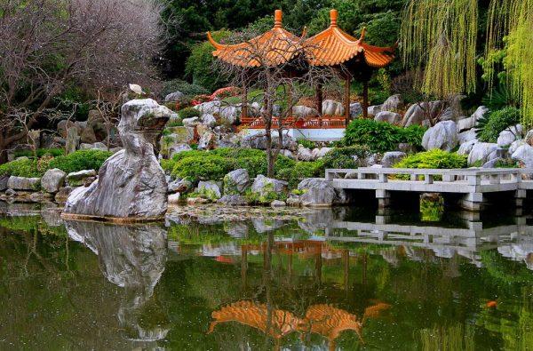 Беседки в Китайском саду