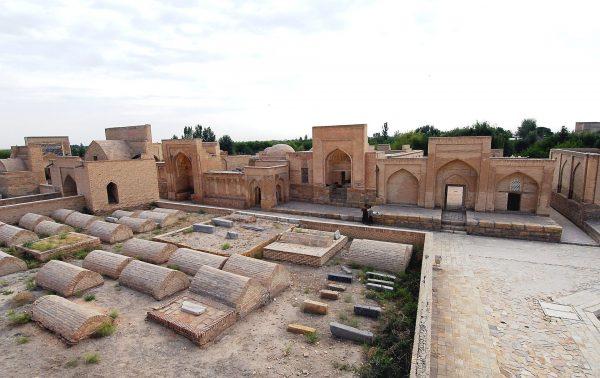 Кладбище Чор-Бакр в Бухаре