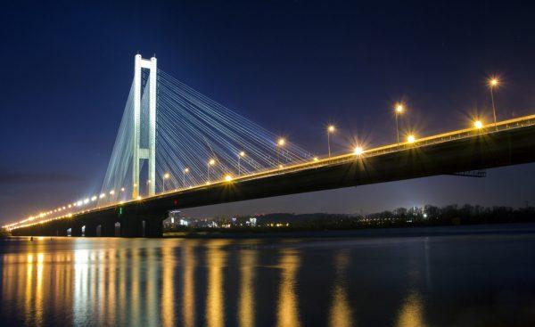 Югорский мост в Сургуте