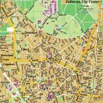 Карта центральной части Дебрецена и парка Надьёрдё