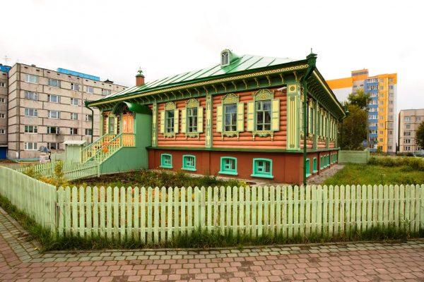 Дом купца Клепикова в Сургуте