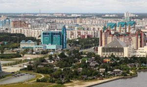 Панорама Сургута