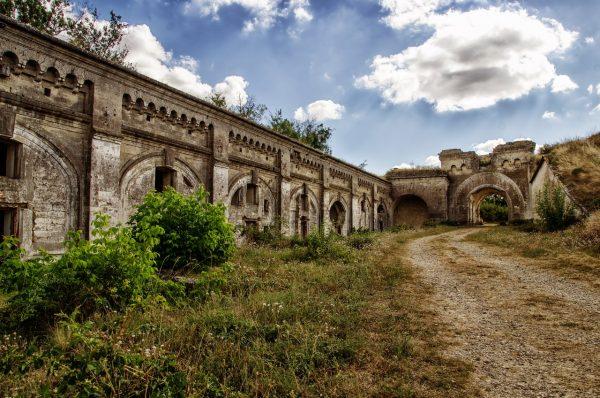 Керченская крепость в Крыму
