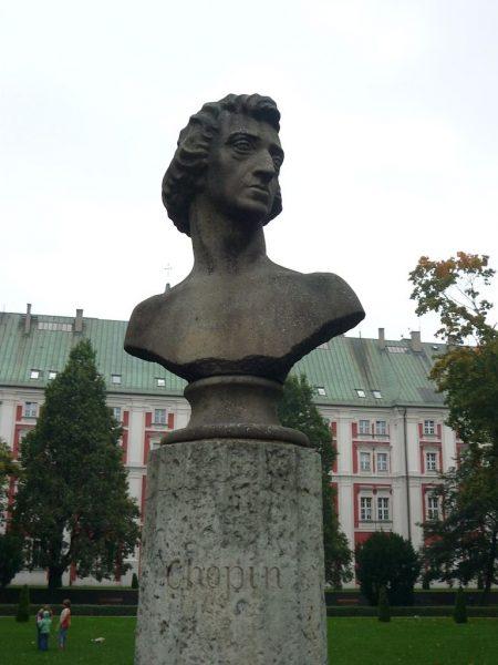 Памятник Фридерику Шопену в Познани