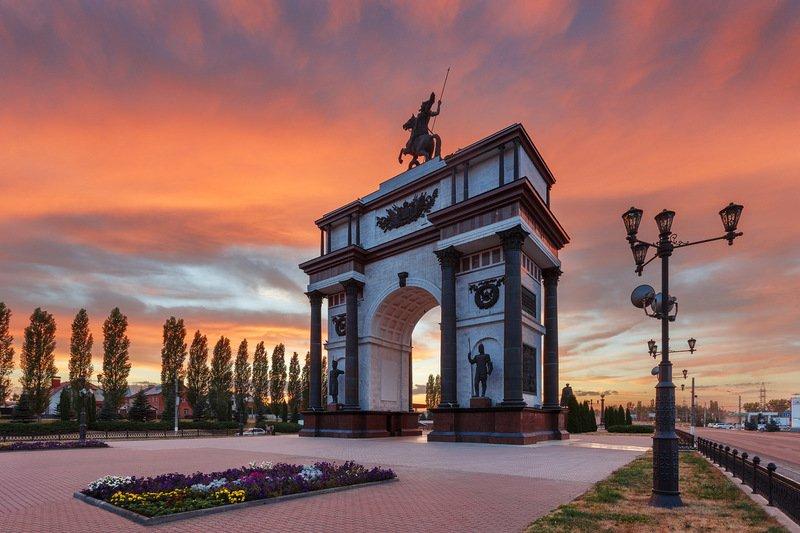 Курск: город воинской славы вчера и сегодня