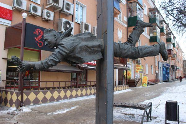 Скульптура Свидание, Курск
