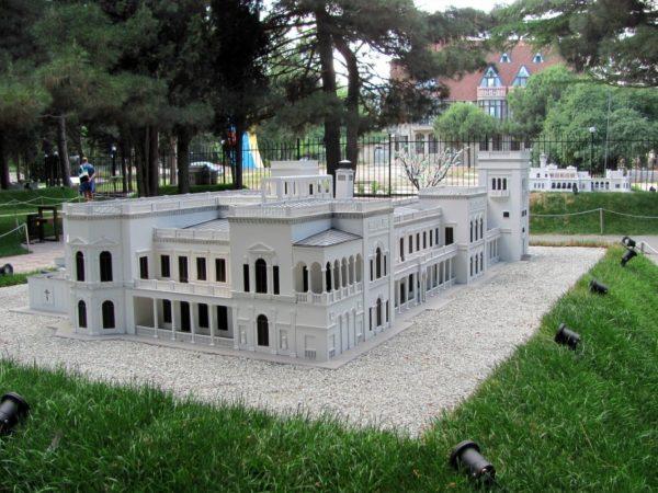 Евпаторийский парк миниатюр в Крыму