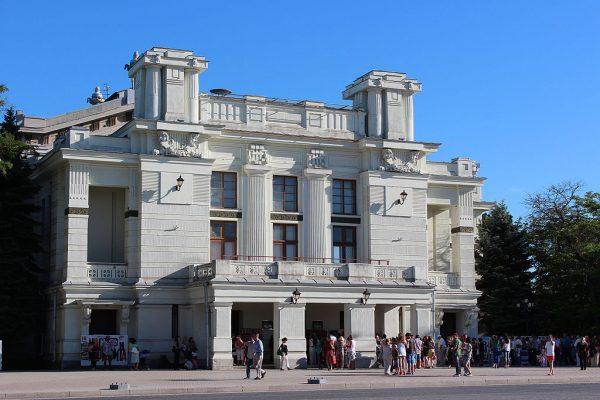 Евпаторийский театр имени Пушкина в Крыму