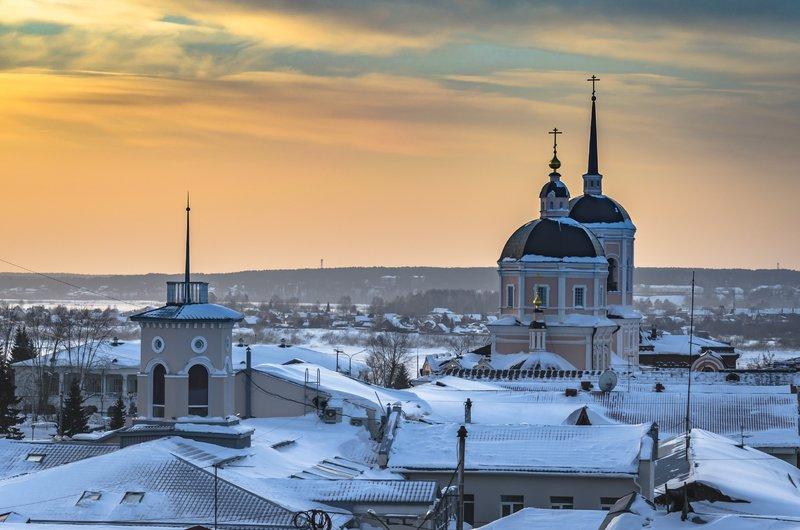 Популярные достопримечательности Томска