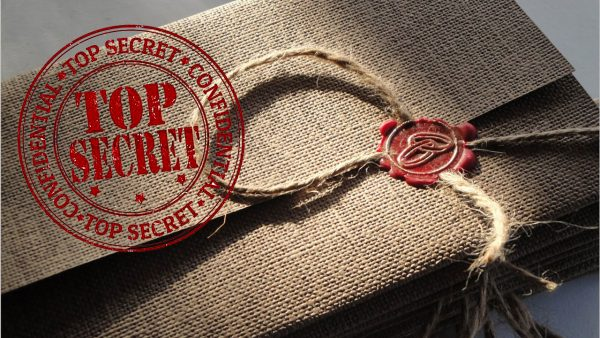 Пакет с секретной документацией