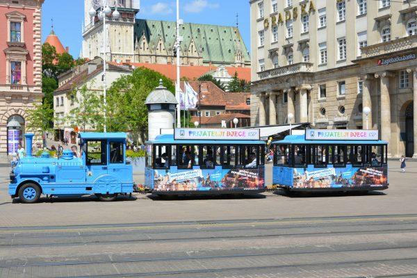 Туристический паровоз Загреба