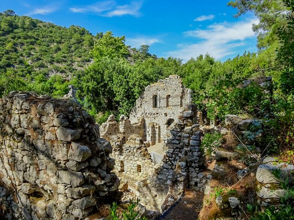 Античный город Олимпос