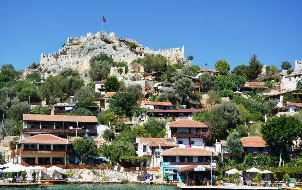 Римская крепость в Симена на холме