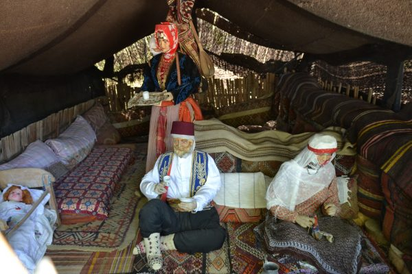 Экспозиция в Этнографическом парке Йорук
