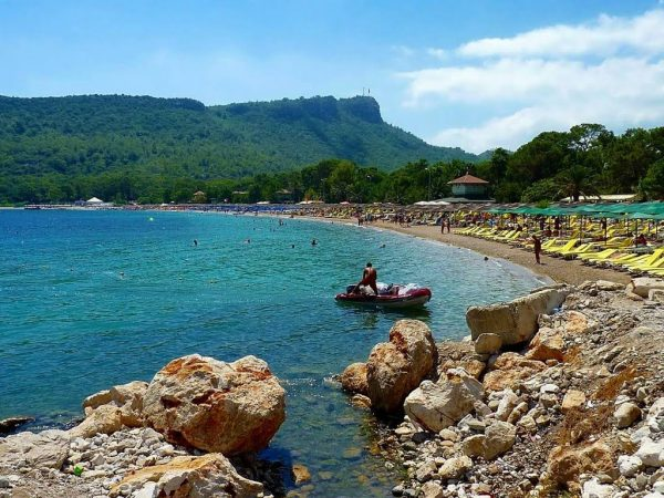 Пляж в Кемере